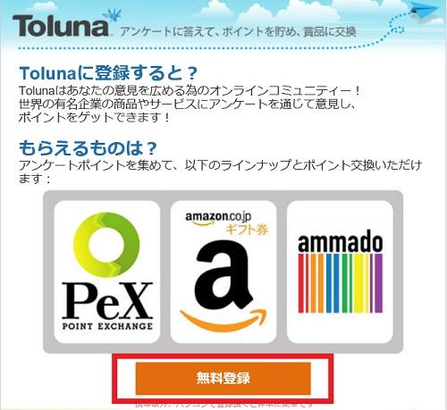tolunaモニター登録1