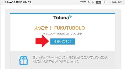 tolunaモニター登録6